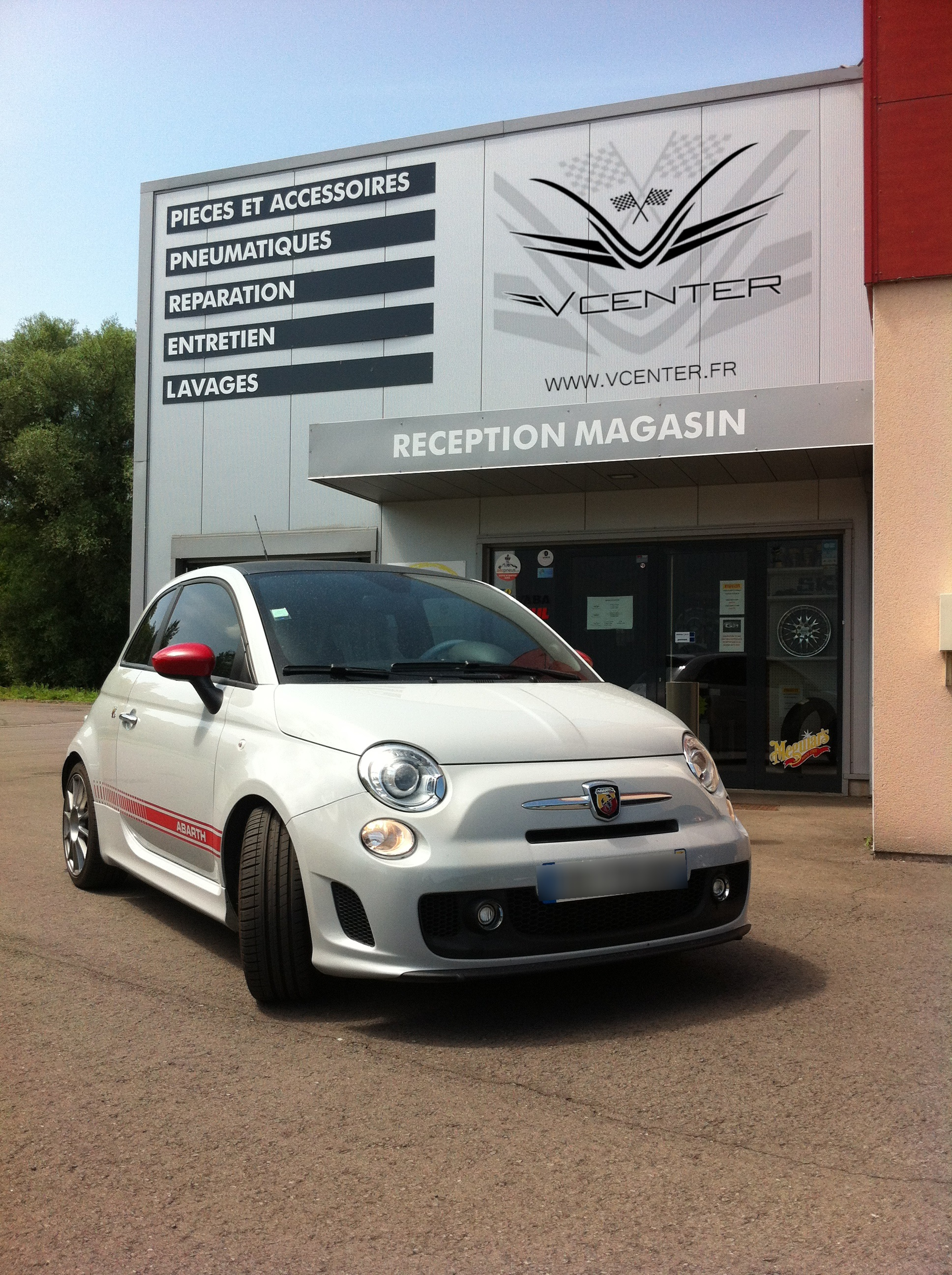 fiat 500 abarth kit bilstein b14 v center garage entre metz et thionville. Black Bedroom Furniture Sets. Home Design Ideas